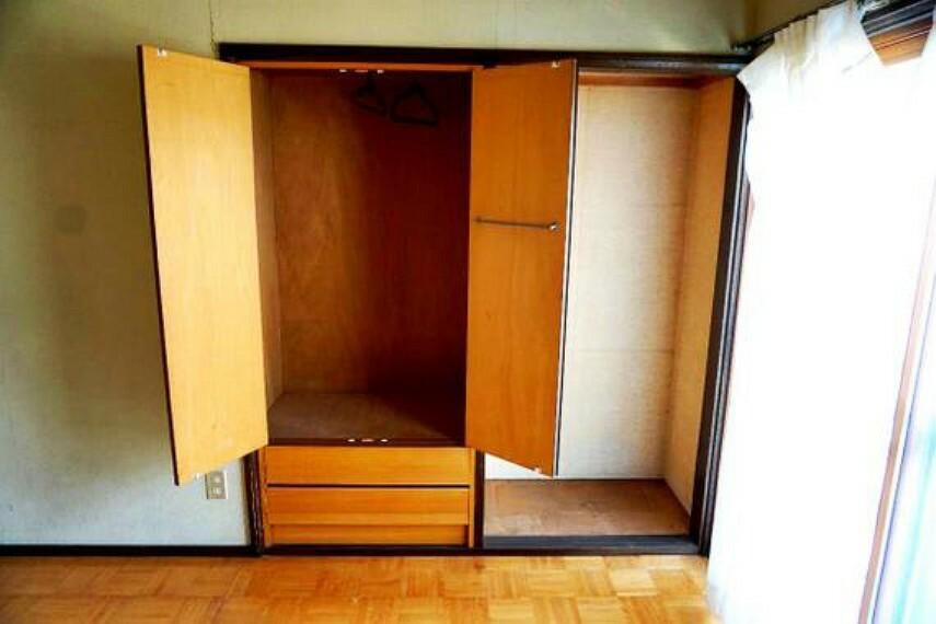 収納 たっぷりとした収納で、沢山のお荷物もすっきりと片付きますね。