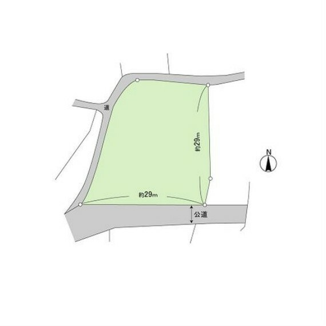 土地図面 230.6坪