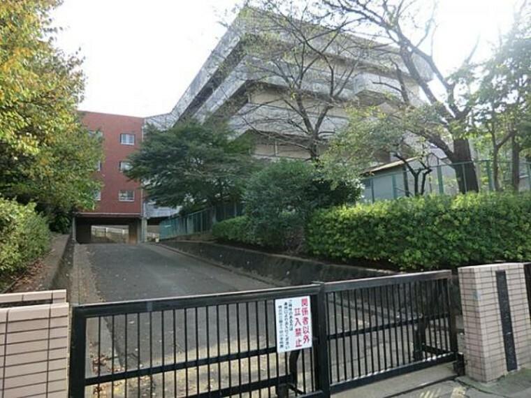 小学校 横浜市立獅子ヶ谷小学校 約550m