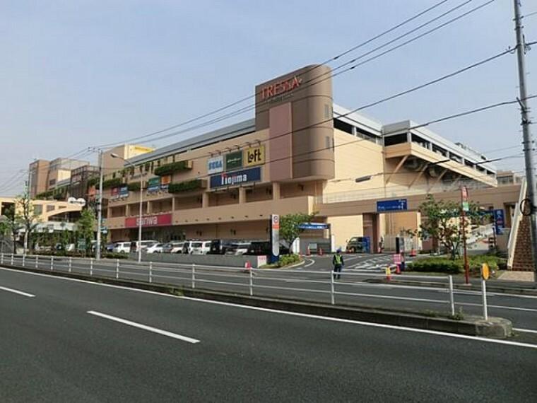 ショッピングセンター トレッサ横浜 約1800m