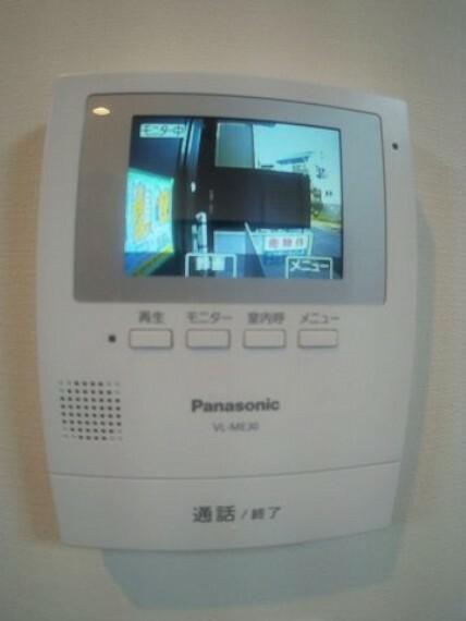 TVモニター付きインターフォン TVモニター付きインターホン
