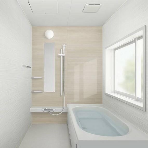 浴室 【同仕様写真/浴室】浴室はハウステック製のユニットバスに新品交換致します。大きさも人気の1坪サイズに拡張致します。