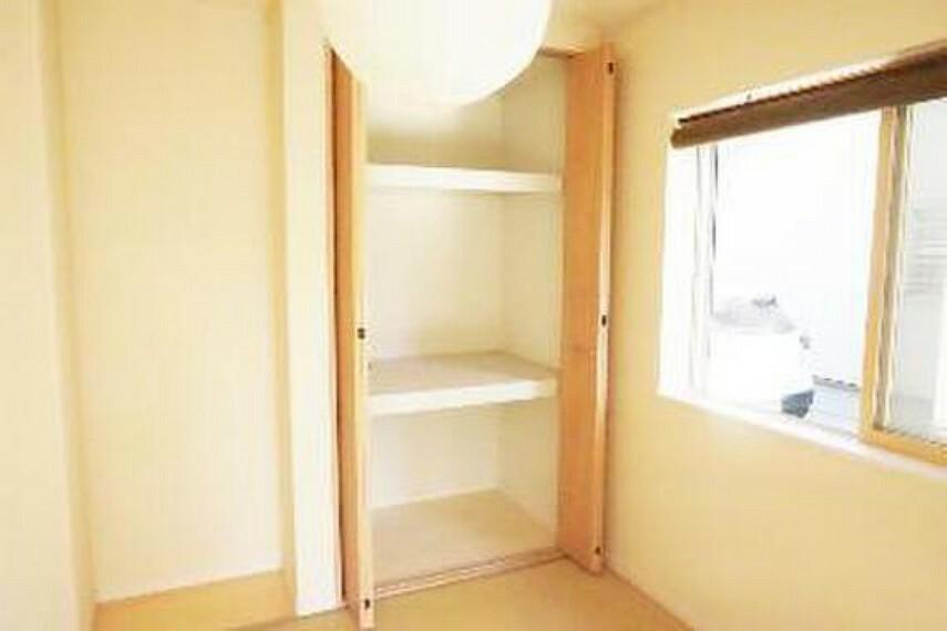 収納 各洋室・和室に便利な収納がございますので、居室スペースを有効にご利用頂けます。