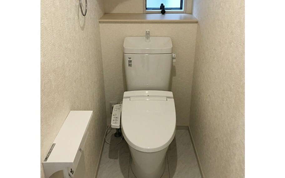 完成予想図(内観) 現地写真:トイレ(4号棟)