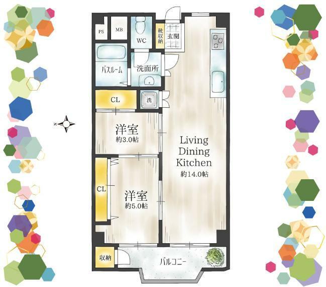 間取り図 御堂筋線「江坂」駅徒歩7分の駅近!令和元年12月リフォーム済みの綺麗なお部屋。即入居可なのですぐに新生活が始められます!