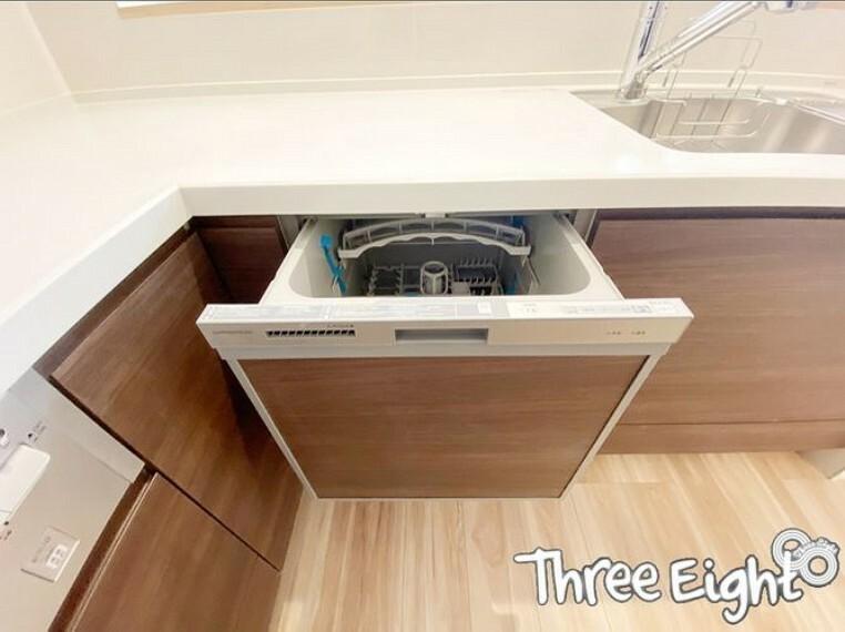 キッチン 【2F キッチン】 あると嬉しい食洗機!面倒な食器洗いはお任せしましょう
