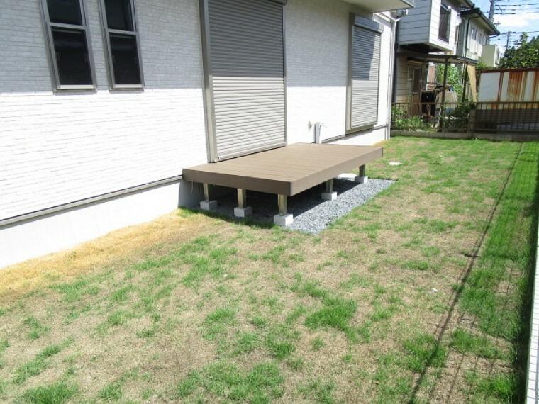 庭 陽当り良好 芝のある庭