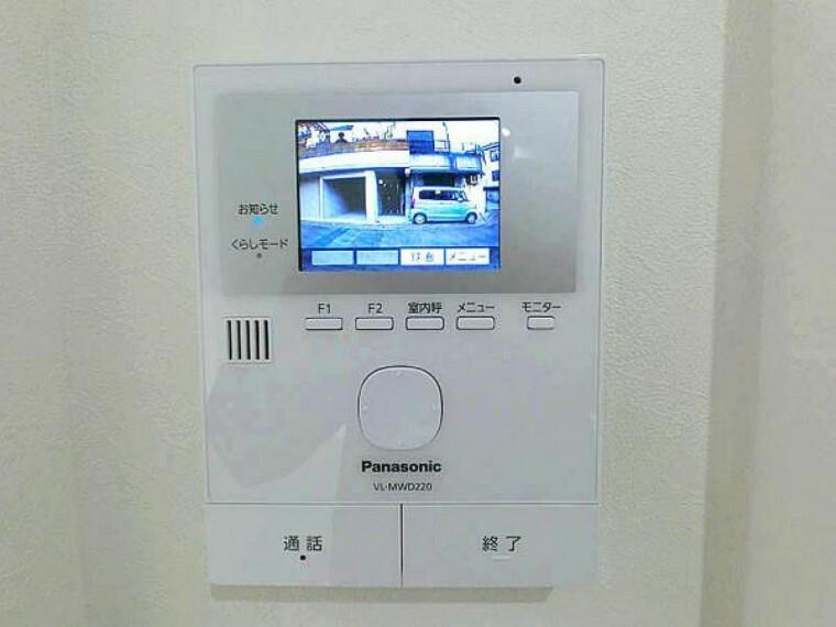 TVモニター付きインターフォン モニター付インターホン