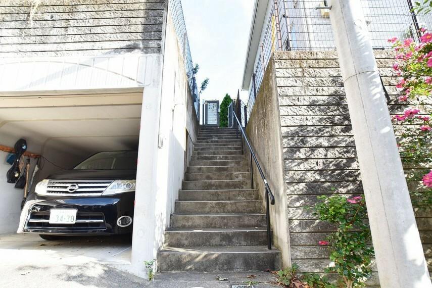 駐車場 駐車スペースも確保済みです。