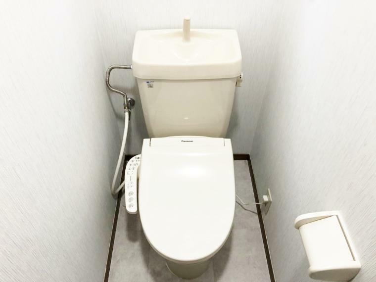 トイレ ウォシュレット交換済