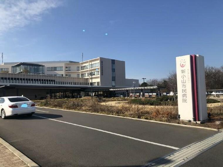小山市民病院・・・地域の医療機関からの診療要請を含め、内科系担当医師が24時間の救急医療に取り組んでいます。