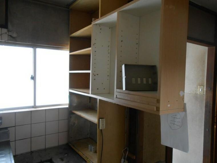 収納 キッチン横収納