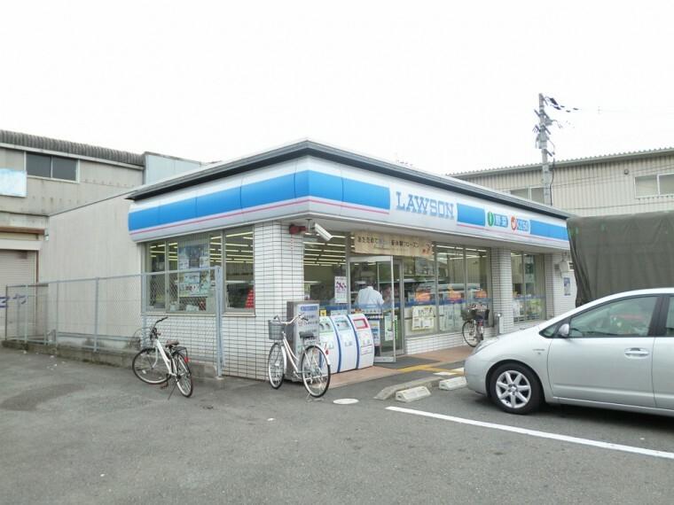 コンビニ 【コンビニエンスストア】ローソン 山科音羽店まで240m