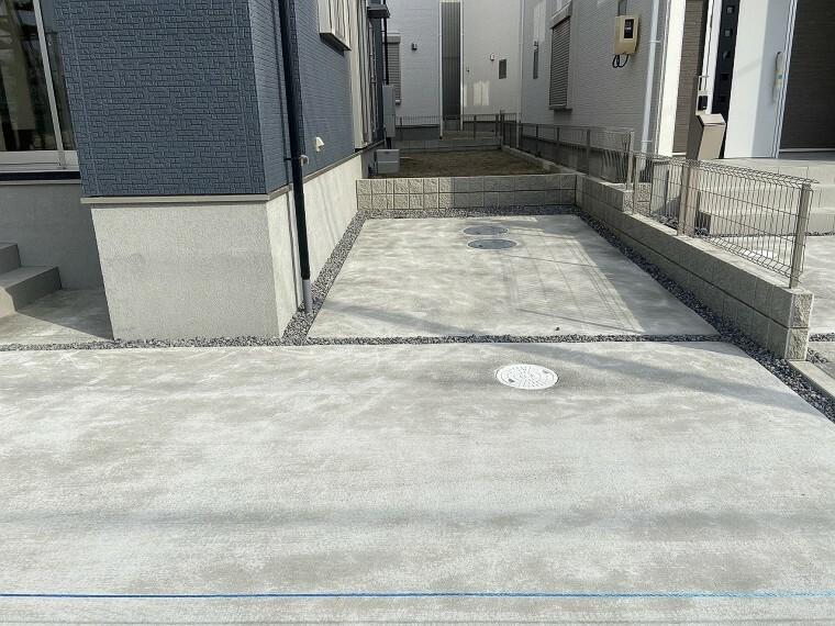 駐車場 駐車場は2台分のスペース