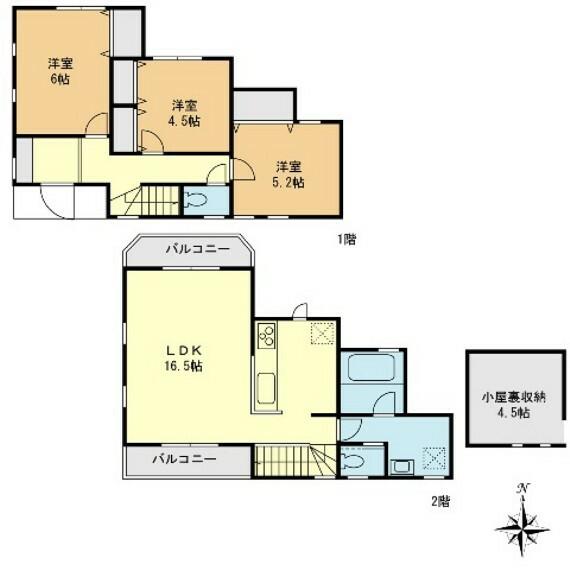 間取り図 D号棟 3LDK 敷地面積100.01平米 建物面積77.75平米 図面と現況が異なる場合は現況を優先とします。