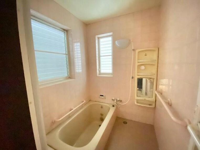 浴室 窓もありこまめに換気できますね