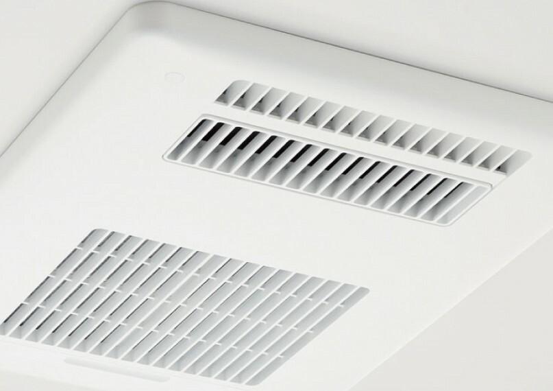 浴室暖房乾燥機  暖房、衣類乾燥、涼風、換気の機能を備えた乾燥機。お風呂場のカビ防止にも。