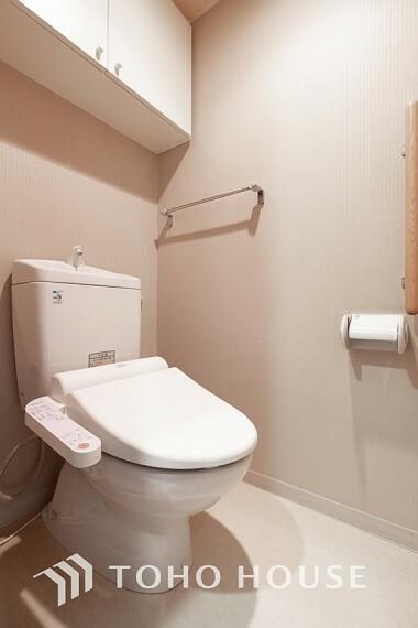トイレ ~トイレ~ トイレは快適な温水洗浄便座付です。手洗い一体型のトイレ設備はスペースの節約ができ、ゆったりとした空間が確保できます。節水も期待できますね。