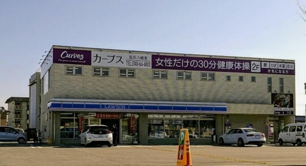 コンビニ ローソン長浜八幡東店