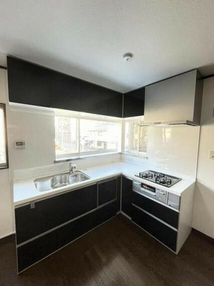キッチン システムキッチン(食洗機・浄水器一体型水栓付き)