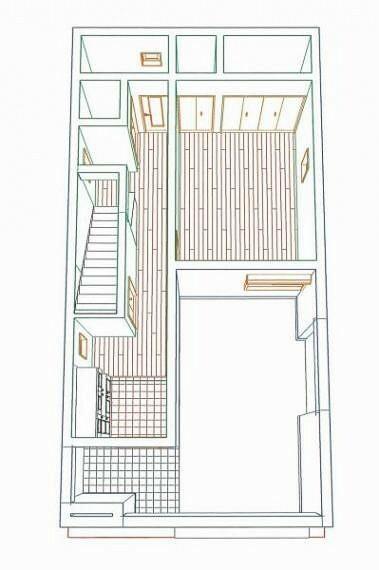 完成予想図(内観) 1階フロア