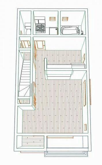 完成予想図(内観) 2階フロア