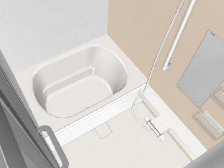 浴室 【同仕様写真】浴室写真。ハウステック製のユニットバスに新品交換します。肌が直接触れる浴室が新しいのは、嬉しいですね。