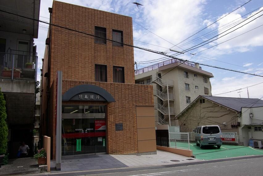 銀行 【銀行】但馬銀行 甲陽園支店まで1854m