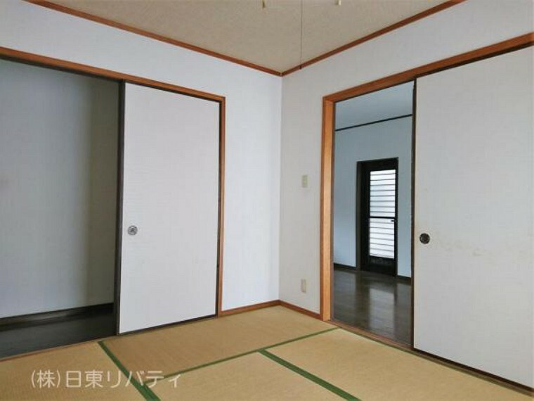 和室 やっぱり落ち着く和室もあります。