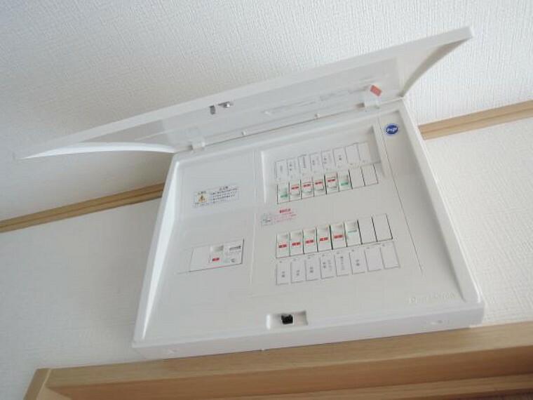 発電・温水設備 【リフォーム済】ブレーカーの配電盤は新品交換します。60アンペアありますのでカンタンに切れず安心ですね。