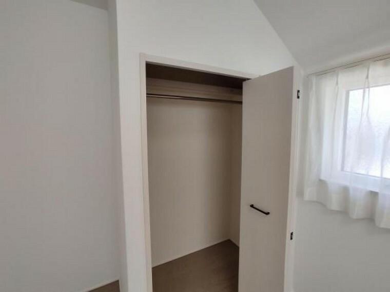 収納 全室にクロゼット/物入。収納力の高いプラン