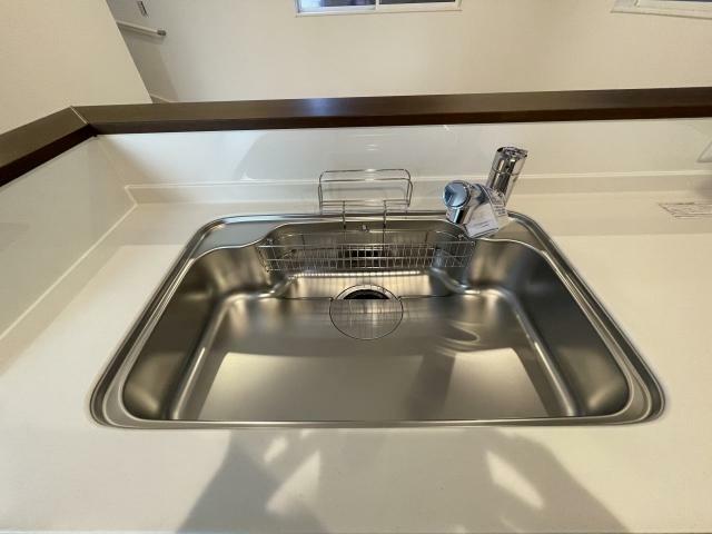 キッチン 水回りはスッキリ清潔感がありお掃除が楽そうですね
