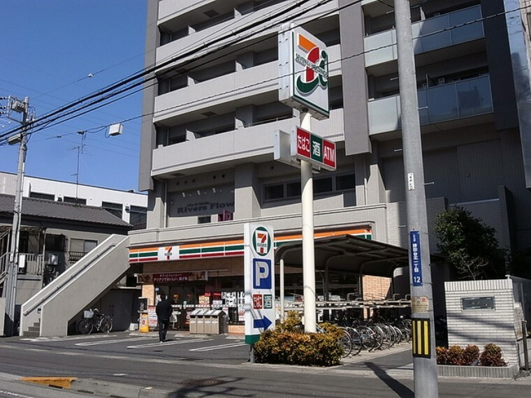 コンビニ (セブンイレブン八千代村上店)徒歩6分