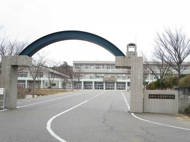中学校 七尾東部中学校まで3800mです。自転車通学が出来ます。
