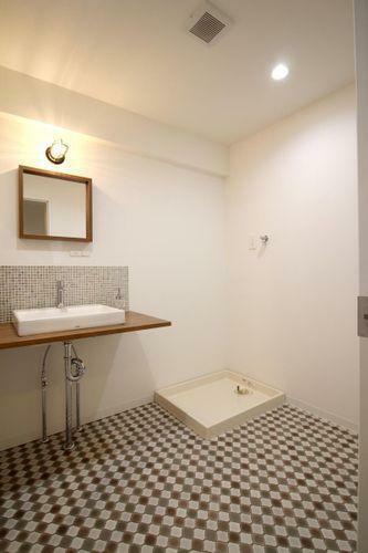 広々洗面スペース