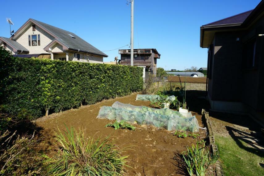 庭 菜園スペースもございます!