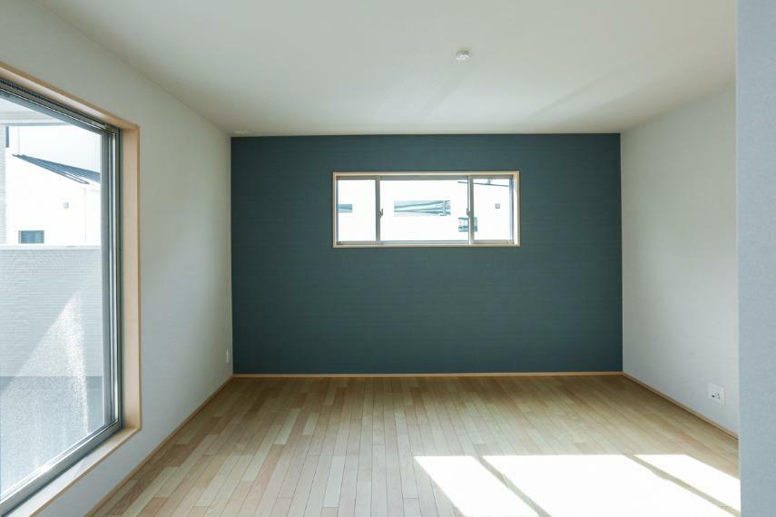 寝室 2Fは全室2面採光・南向きで風通しもよく、明るく開放的です。(5号棟)