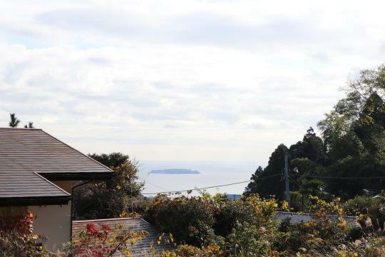 現況写真 物件から初島が見えます