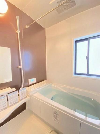 浴室 広々とした約1坪の浴室!お子様との入浴タイムも楽しめます!