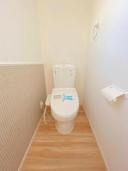 トイレ トイレ周りはスッキリとして清潔感があります!