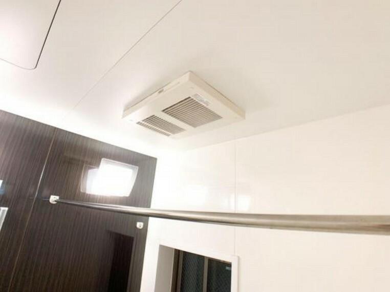 冷暖房・空調設備 浴室乾燥機付~雨の日のお洗濯ものも安心ですね~