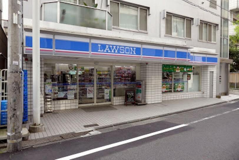 コンビニ 【コンビニエンスストア】ローソン 渋谷鶯谷町店まで380m