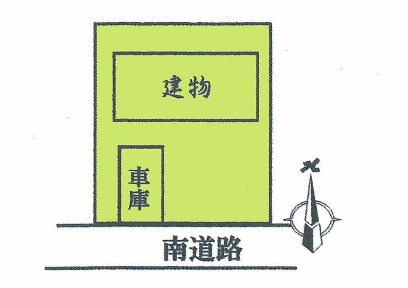 区画図 広々52坪以上ございます。