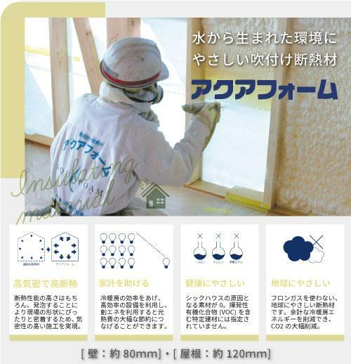 標準仕様■調湿性能が高く、断熱・防音・難燃・防虫に非常に優れた断熱材「セルローズファイバー」を採用。夏涼しく冬暖かい快適なお家に。
