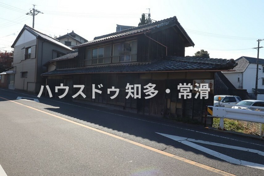 現況写真 常滑市小鈴谷字梶田 売土地 前道は6.5mあり車の出し入れがスムーズです。