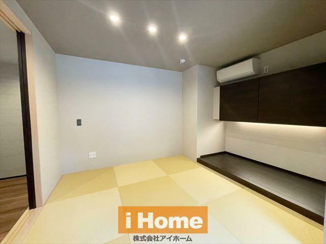和室 和室 約4.5帖 落ち着いた空間になっています。