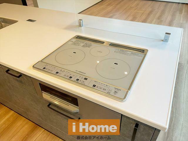 キッチン IHのためお手入れも簡単です!