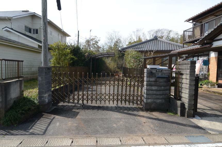 外観写真 敷地入口ゲート