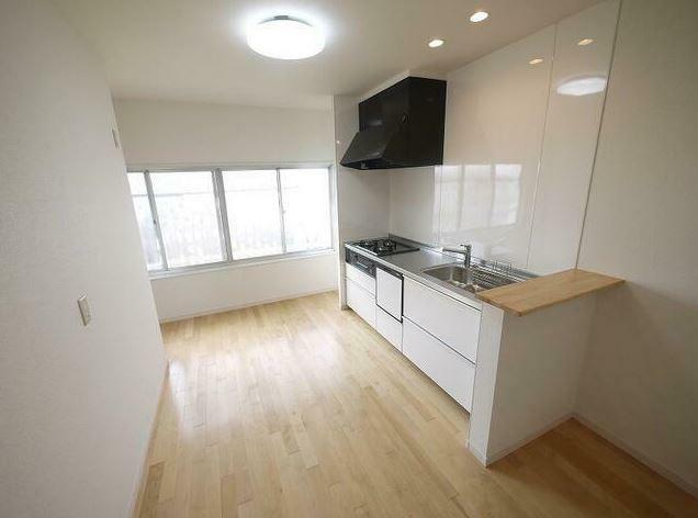 キッチン キッチンも広々! 食洗器も付いてます。