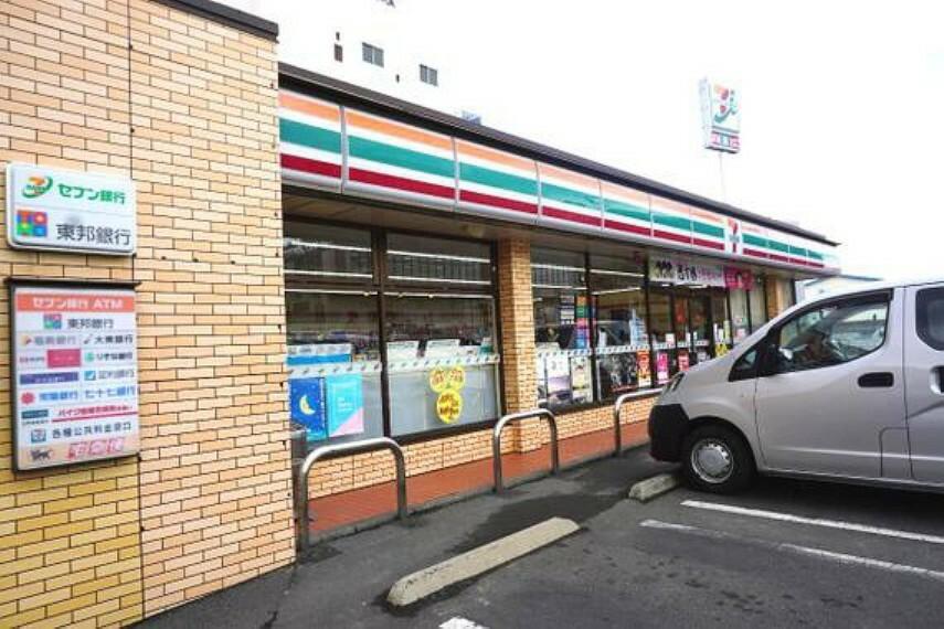 コンビニ セブンイレブン郡山図景町店 徒歩7分(約500m)